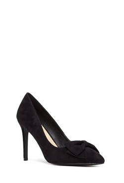 Forever 21 - Faux Suede Bow Pumps