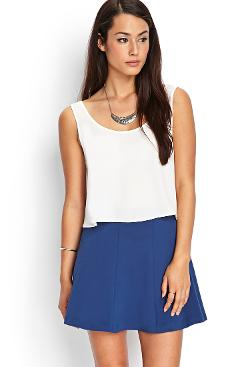 Forever 21 - Basic Knit Skater Skirt