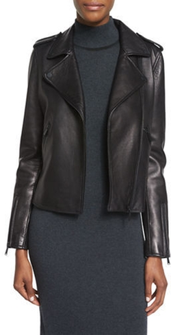Bagatelle - Leather Moto Jacket