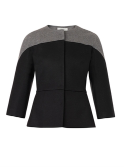 Fendi - Bi-Colour Fleece-Wool Jacket