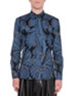 Givenchy  - Paisley-Print Button-Down Shirt