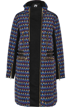 M Missoni - Printed Shell & Wool-Blend Down Coat