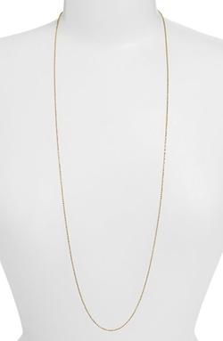 Argento Vivo - Long Ball Chain Necklace