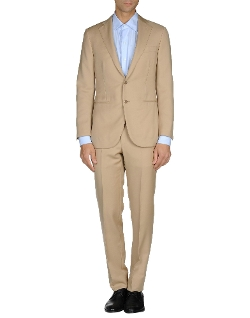 Manifutura - Cool Wool Solid Collar Suit