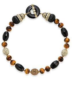 Heidi Daus  - Faceted Bead Necklace