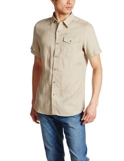 G-Star  - RCT Tacoma Linen Shirt Khaki
