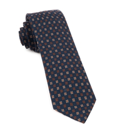 The Tie Bar - Medallion Medley Tie