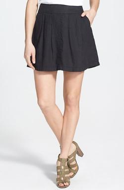 GLAMOROUS  - Pleat Jersey Skater Skirt