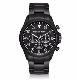 Michael Kors - Gage Black-Tone Watch