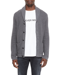 Rag & Bone  - Avery Shawl-Collar Knit Cardigan