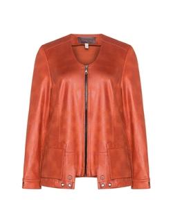 Sempre Piu - Stretch Faux Leather Jacket