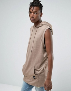 Sixth June - Longline Sleeveless Hoodie
