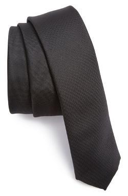 Topman  - Black Slim Tie