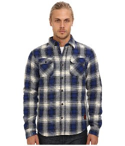 Scotch & Soda - Diamond Quilted Flannel Shirt