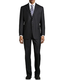 Hickey Freeman  - Two-Piece Worsted Wool Suit