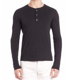 Ralph Lauren - Purple Label Henley Tee Shirt