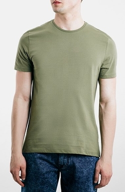 Topman - Slim Fit Crewneck T-Shirt