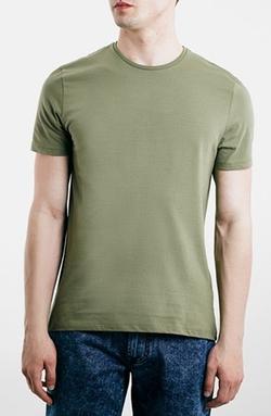 Topman - Slim Fit Crewneck T-Shirt