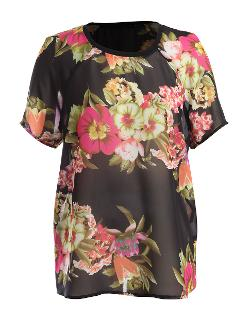 KUT from the Kloth top - Eva Floral Print Top