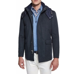 Peter Millar - Tempest All-Weather Hooded Jacket