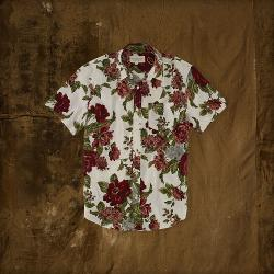 Denim & Supply   - Short Sleeve Button Down Shirt