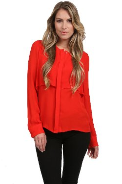 Parker - Two Layer Top In Red