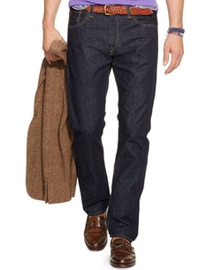 Polo Ralph Lauren - Hampton Straight-Fit Rinse-Wash Jeans