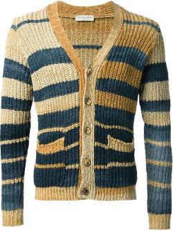 Roberto Collina - striped cardigan
