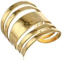 The SAK  - Wide Sculptured Cuff Bracelet