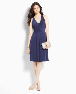 Ann Taylor - Jersey Halter Dress