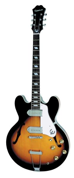 Epiphone  - Casino Archtop Electric Guitar, Vintage Sunburst