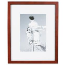 Lawrence Frames - Wood 6 by 8 Picture Frame Matted to 4 by 6