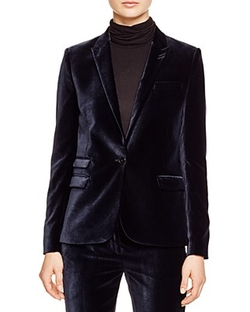 The Kooples - Glam Velvet Blazer