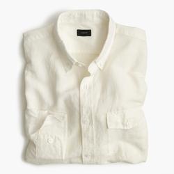 J.Crew - Irish Cotton-Linen Shirt