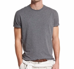 Brunello Cucinelli - Short-Sleeve Crewneck T-Shirt