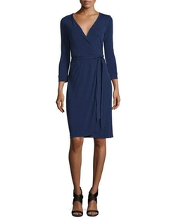 Diane Von Furstenberg - New Julian Two Matte Jersey Wrap Dress