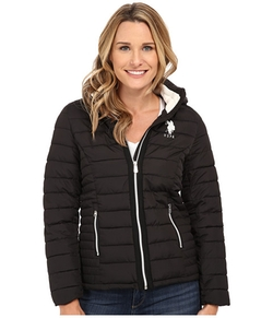 U.S. Polo Assn.  - Hooded Puffer Jacket