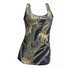Southern Designs - Huntress Black Camo Tank Top