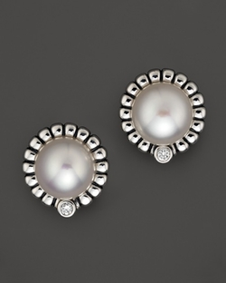 Lagos - Freshwater Pearl Stud Earrings