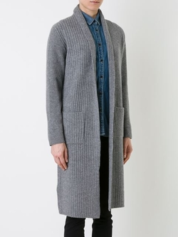 Loveless - Long Ribbed Cardigan