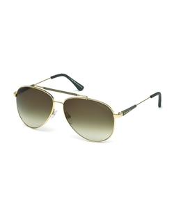 Tom Ford  - Rick Aviator Sunglasses