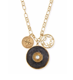 Tory Burch - Coin Cluster Pendant Necklace