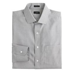 Ludlow Traveler  - Dress Shirt in End-On-End Cotton