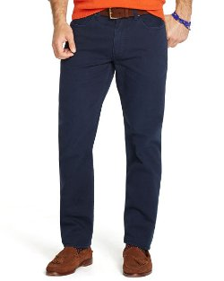 Ralph Lauren - Straight- Fit Five-Pocket Chino Pants
