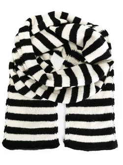 Saint Laurent - Wool Striped Scarf