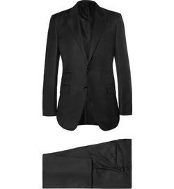 Tom Ford - Slim-Fit Peak Lapel Wool Suit