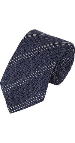 Brunello Cucinelli - Textured-Stripe Neck Tie