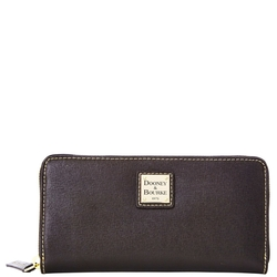 Dooney & Bourke - Saffiano Large Zip Around Wallet