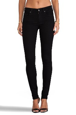 7 For All Mankind - Slim Illusion Skinny w/ Squiggle Contour Pants