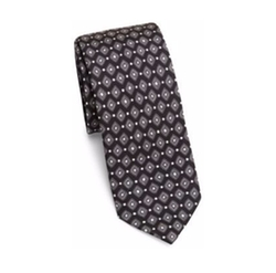 Dolce & Gabbana - Diamond Pattern Silk Tie